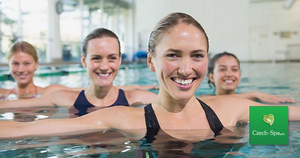 تدريبات في المسبح + مساجات مائية